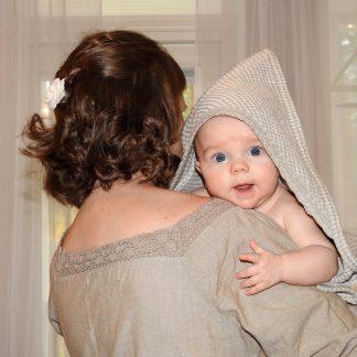 Vauvan ja lasten pellavapyyhe