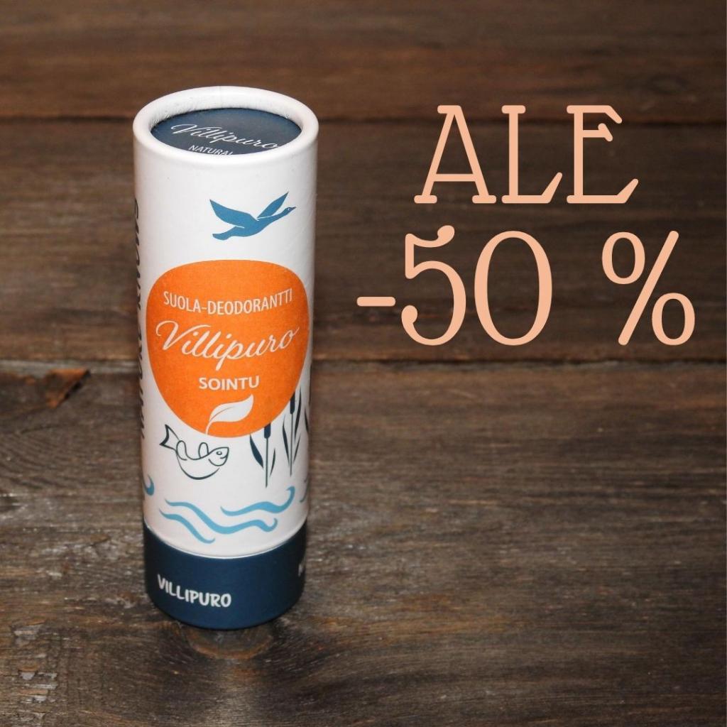 Vanhemman erän SOINTU Suola-deodorantti (unisex), 70g