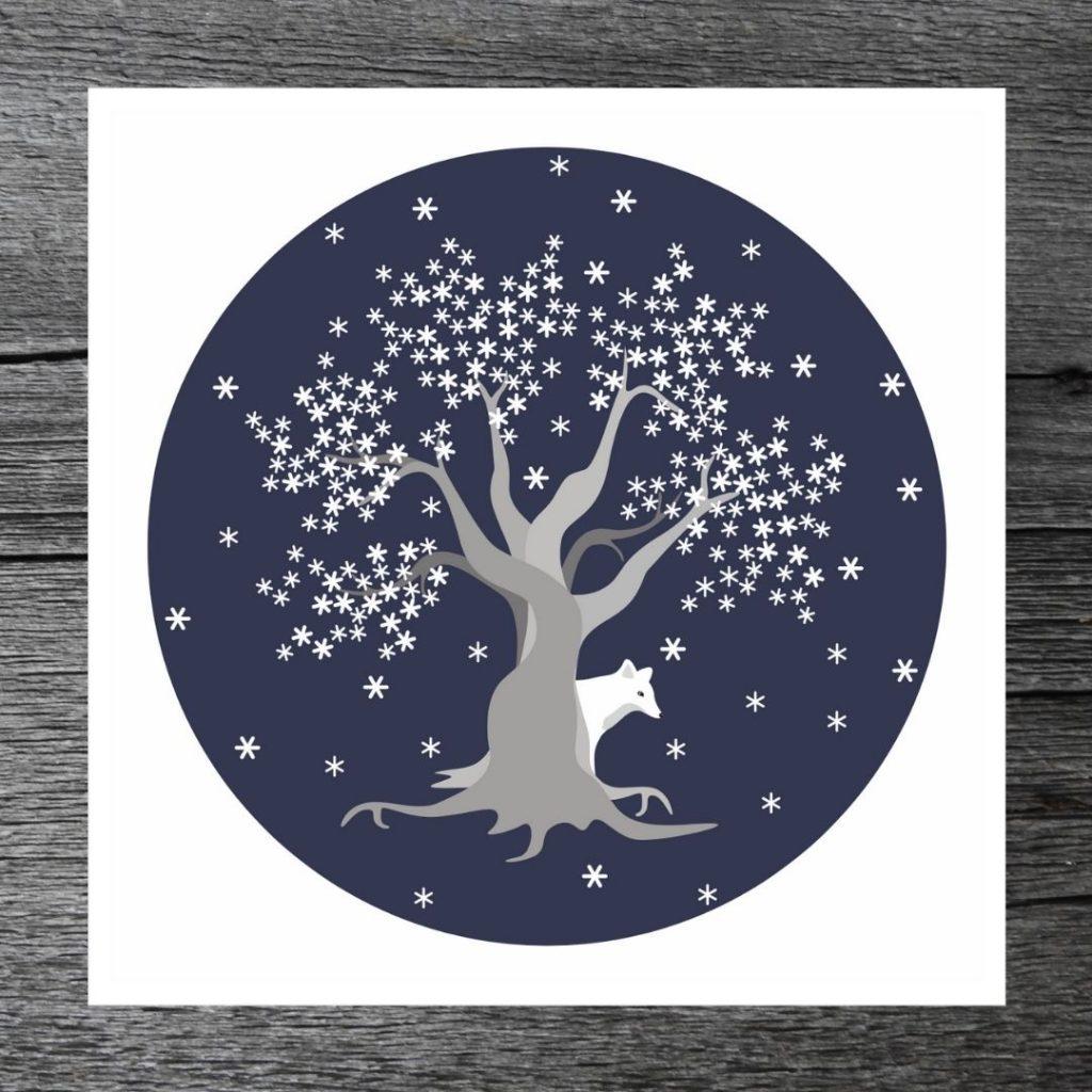 Luminen puu -kortti